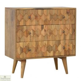 Carved 3 Drawer Chest_1