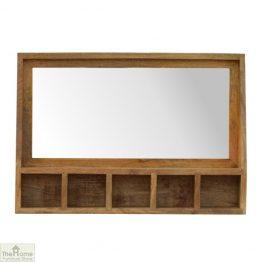 Mounted Mirror Shelf