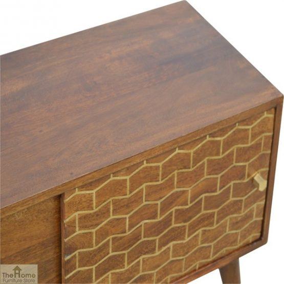 Gold Pattern Sliding Door Cabinet_5