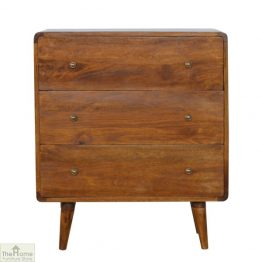Highgrove Curved 3 Drawer Chest
