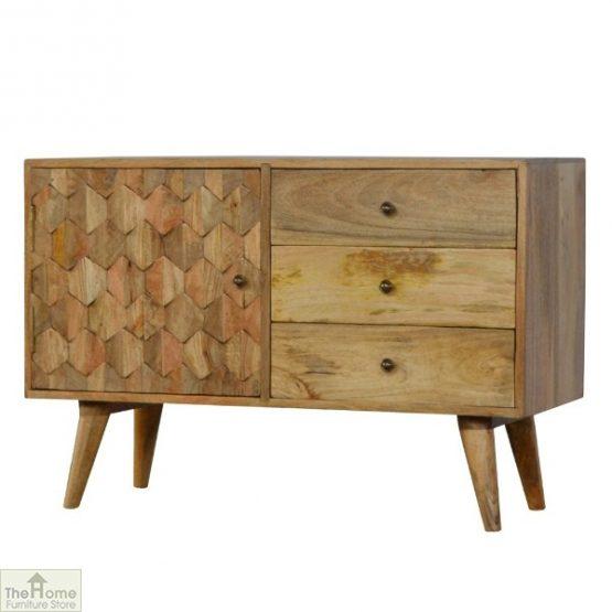 Carved 3 Drawer Cabinet_2