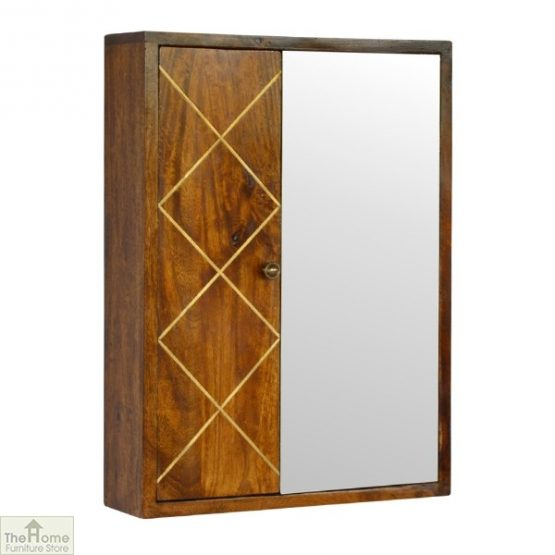 Gold Inlay Mirrored Cabinet_1