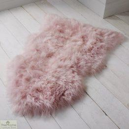 Blush Pink Sheepskin Rug_1