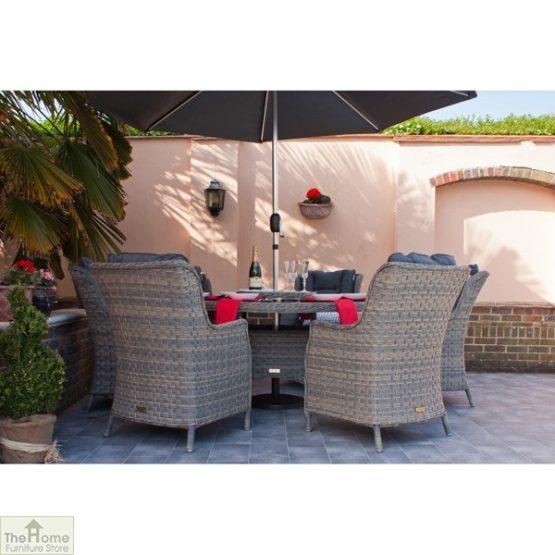 Casamoré Corfu Woodash 6 Seater Round Dining Set_2