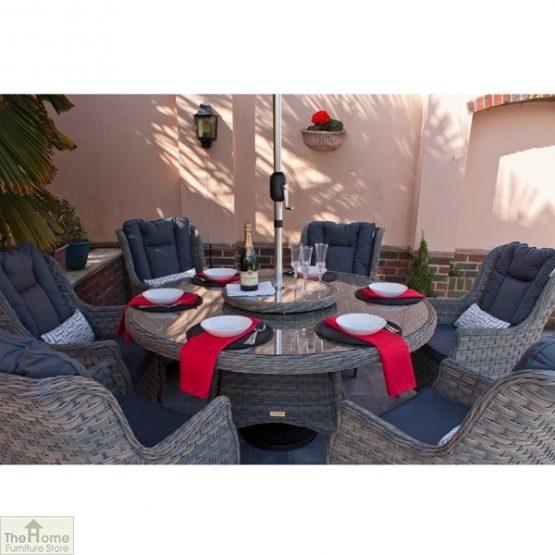 Casamoré Corfu Woodash 6 Seater Round Dining Set_3