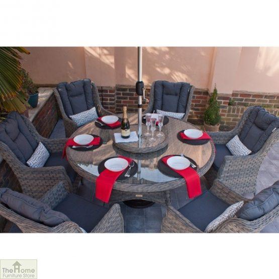 Casamoré Corfu Woodash 6 Seater Round Dining Set_4