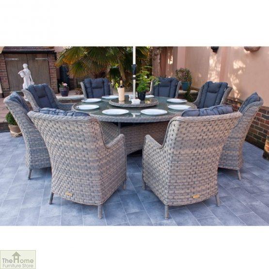 Casamoré Corfu Woodash 8 Seater Round Dining Set_4