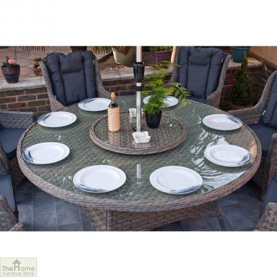 Casamoré Corfu Woodash 8 Seater Round Dining Set_7