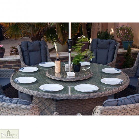 Casamoré Corfu Woodash 8 Seater Round Dining Set_8