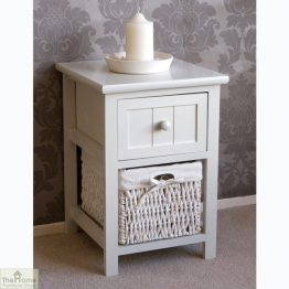 Casamoré Whitehaven 1 Drawer 1 Basket Unit_1