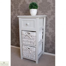 Casamoré Whitehaven 1 Drawer 2 Basket Unit_1