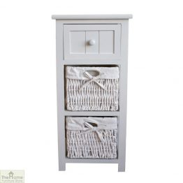 Casamoré Whitehaven 1 Drawer 2 Basket Unit