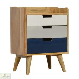 Winchester Navy 3 Drawer Bedside Table_1