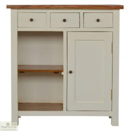 Woodbridge 3 Drawer 2 Shelf Sideboard