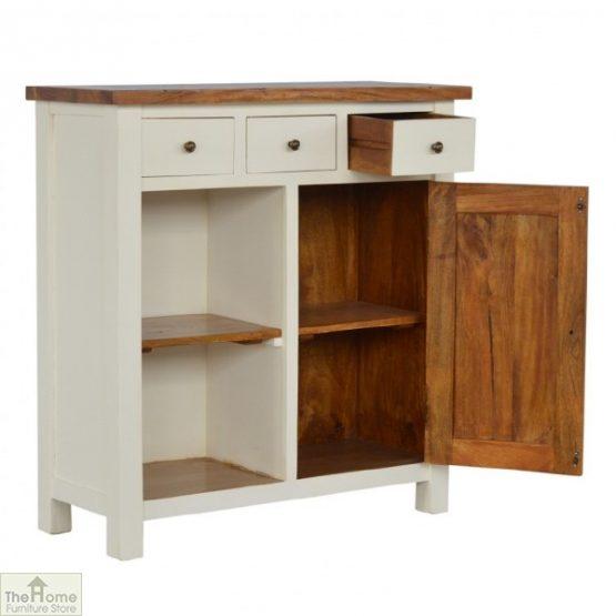 Woodbridge 3 Drawer 2 Shelf Sideboard_2
