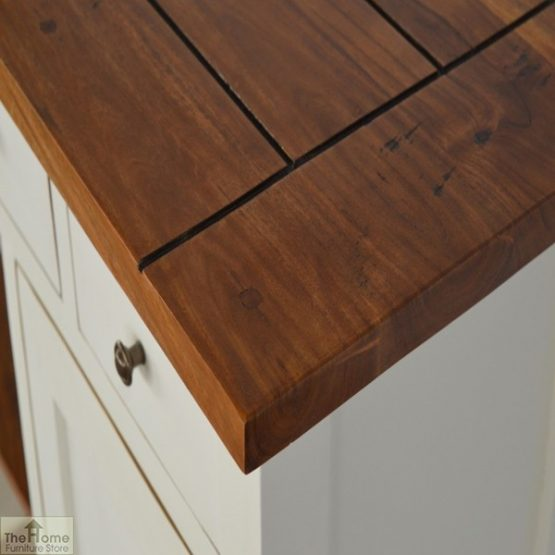 Woodbridge 3 Drawer 2 Shelf Sideboard_3