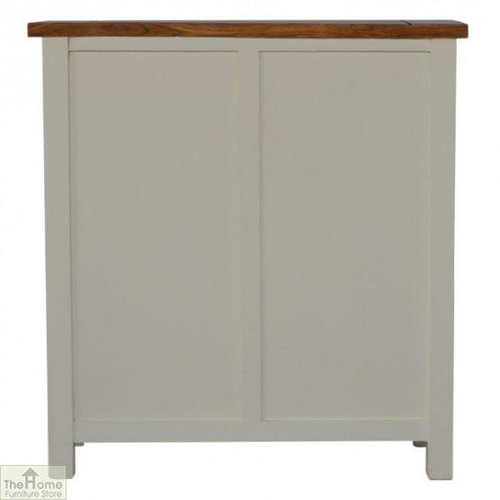 Woodbridge 3 Drawer 2 Shelf Sideboard_8