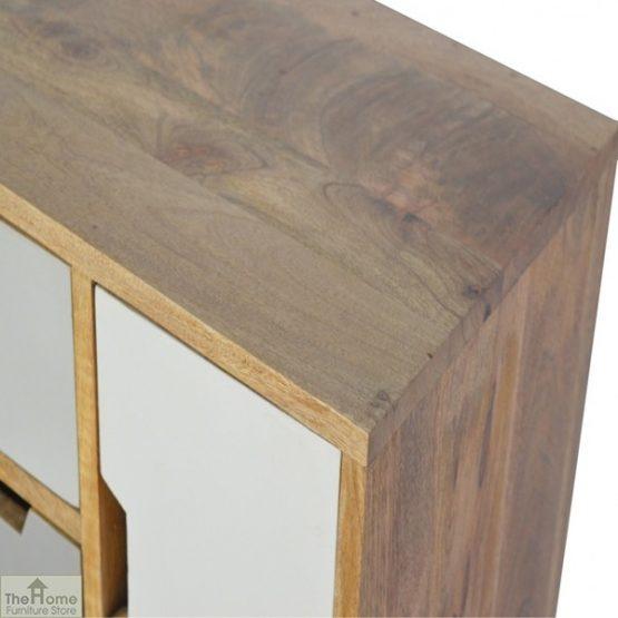 Winchester Grey 7 Drawer 2 Door Cabinet_3