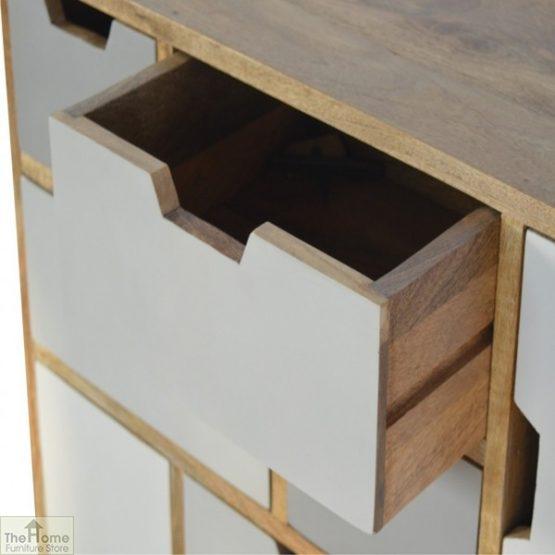 Winchester Grey 7 Drawer 2 Door Cabinet_4
