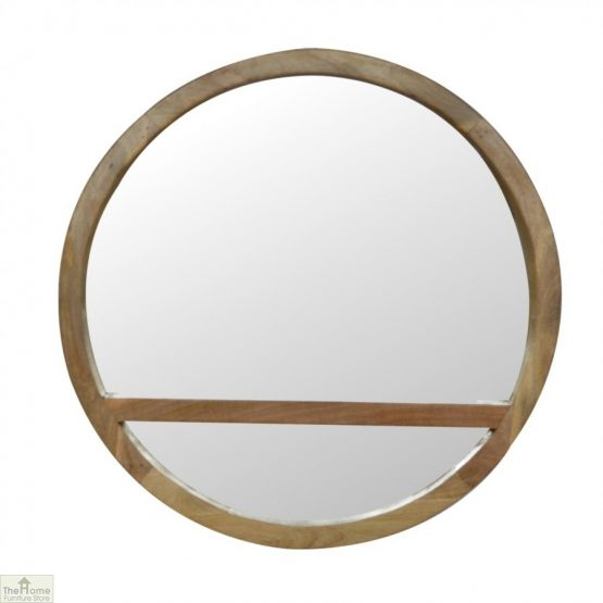 Wall Mounted Round Mirror