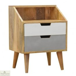 Winchester Grey 2 Drawer Bedside Unit_1