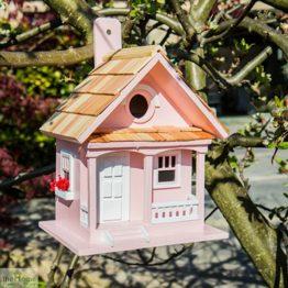 Cotton Candy Pink Bird House_1