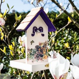 Butterfly Flower Hanging Bird Feeder_1