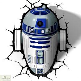 Star Wars R2-D2 Wall Light