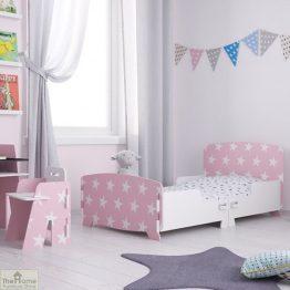 Pink Star Junior Toddler Bed_1