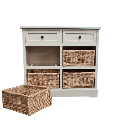 Casamoré Gloucester 2 Drawer 4 Basket Unit_10
