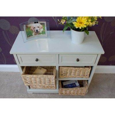Casamoré Gloucester 2 Drawer 4 Basket Unit_5