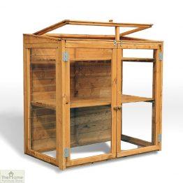 4 x 2 Mini Wooden Greenhouse