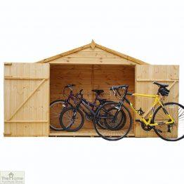 3 x 7 Shiplap Apex Bike Store