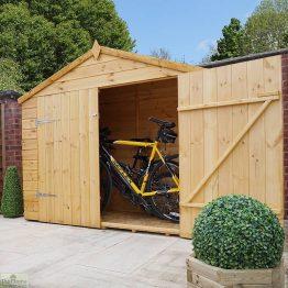 3 x 7 Shiplap Apex Bike Store_1