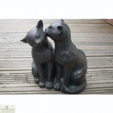 Two Cats Garden Ornament