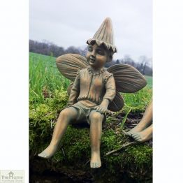 Boy Fairy Garden Ornament