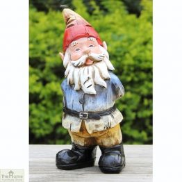 Curious Gnome Garden Ornament