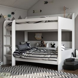 White Bunk Bed_1