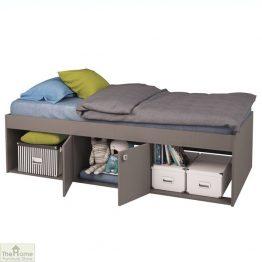 Grey Single Cabin Bed