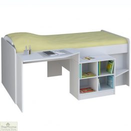 White Cabin Bed