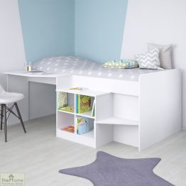White Cabin Bed_1