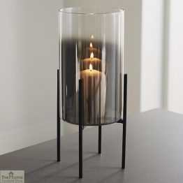Glass Stand Pillar Candle Holder_1