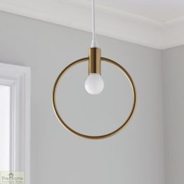 Lunar Gold Pendant Light_1