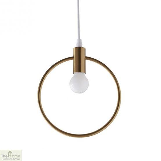Lunar Gold Pendant Light