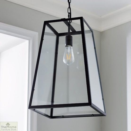 Glass Lantern Pendant Light _1
