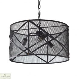 Industrial Black Ceiling Pendant Light