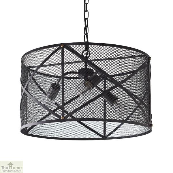 Industrial Black Ceiling Pendant Light