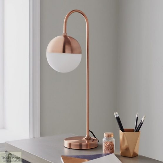 Mayfair Rose Gold Table Lamp_1