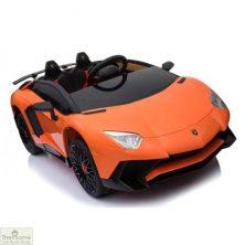 Lamborghini Aventador SV 12V Ride On Car – Orange