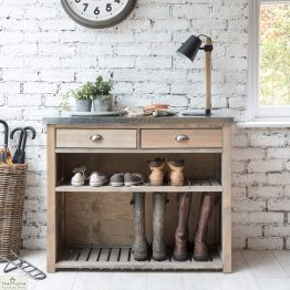 Aldsworth Wellington Boot Shoe Wooden Storage Unit